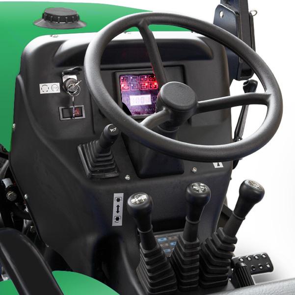 Mandos del tractor Ferrari Raptor 30-40 DT