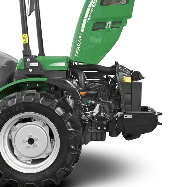 Motor del tractor FERRARI Cromo K30-K40 RS
