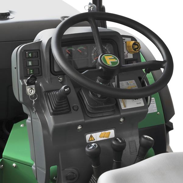 Mandos del tractor FERRARI Vega 85-95