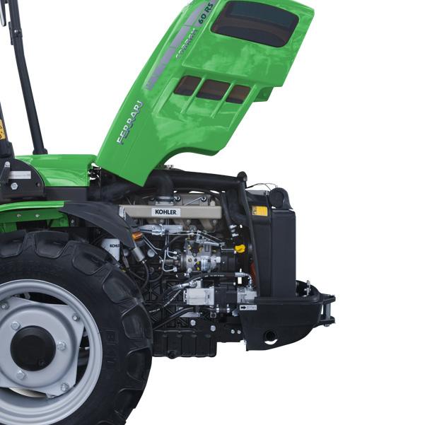 Motor del tractor FERRARI Cobram 60
