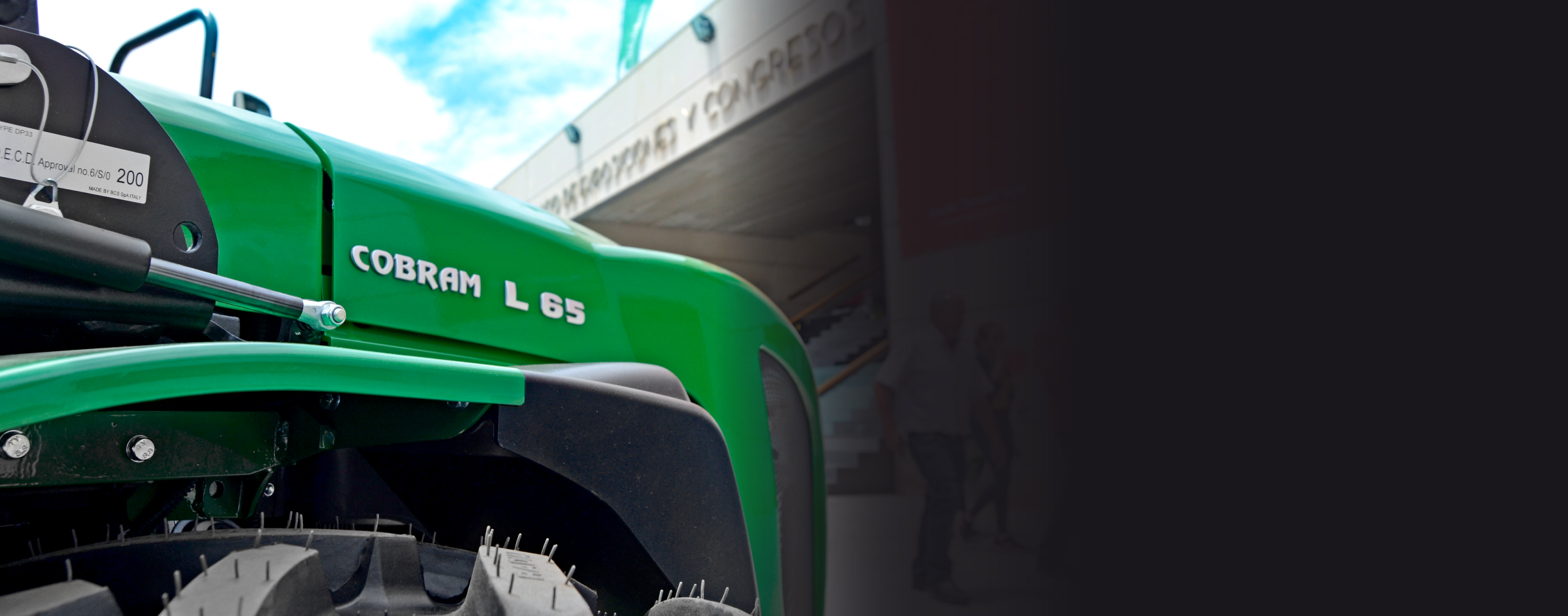 Cobram L65 en Infoagro exhibition